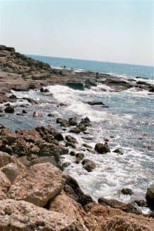 Bucht und Strand beim Tempel - Bucht in Side