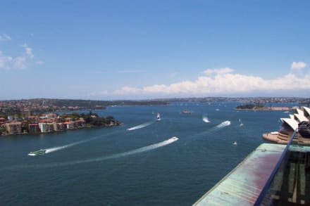 Ausblick vom Pylon Lookout - Harbour Bridge