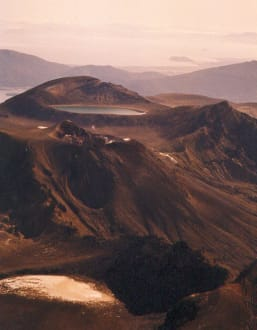 Tongariro National Park Neuseeland - Turangi & Tongariro Crossing im Tongariro National Park