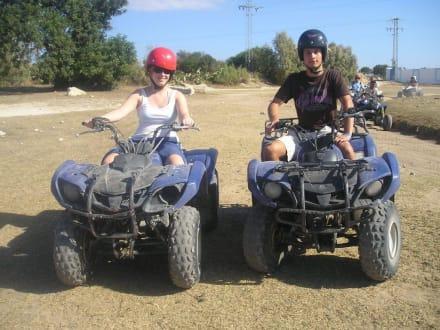 Quad-Ausflug - Quads Tour Taoufik Hammamet