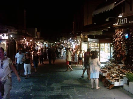 Altstadt von Rhodos-Stadt am Abend - Altstadt Rhodos Stadt