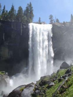 Wasserfall im Yosemite - Yosemite Nationalpark
