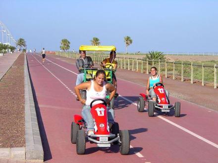 Freizeit an der Promenade - Strandpromenade Morro Jable