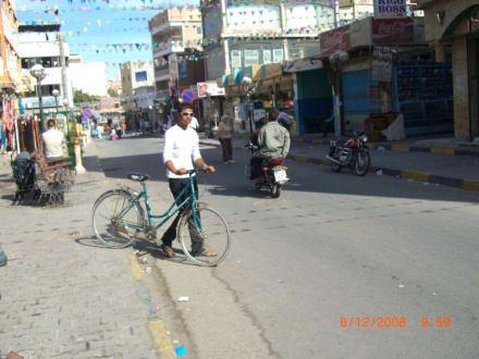 Strassenverkehr - Zentrum Hurghada