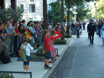 Die Hamburger Fahne - Steuben Parade New York