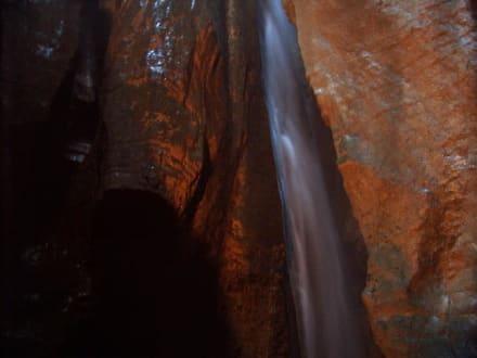 Wasserfall bei Riva - Grotta Cascata Varone