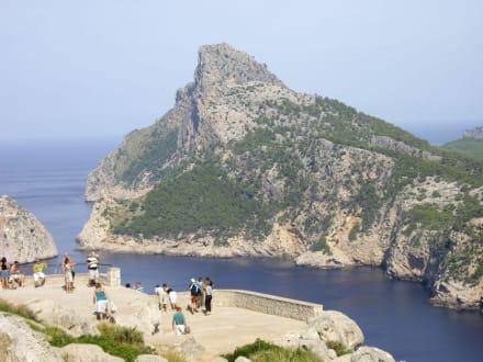 Blick auf das Cap Formentor - Mirador Mal Pas