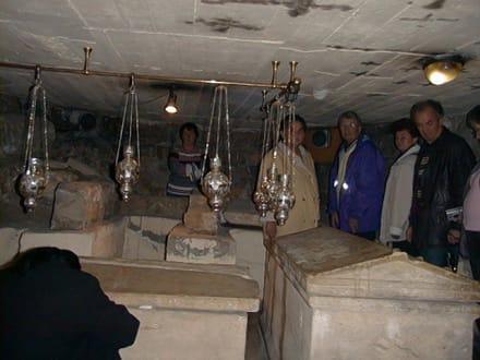 Lazarus-Basilika - Krypta - Lazarus Basilika