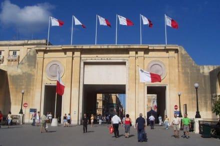 Stadttor von Valletta - Stadttor Valetta