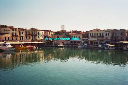 Fischrestaurants am venizianischen Hafen - Altstadt Rethymno