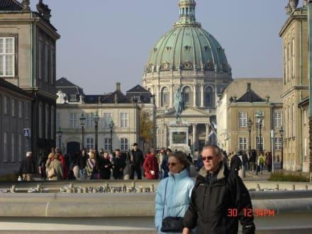 Kopenhagen - Schloß Amalienborg