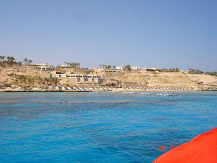 Ansicht des Tauchplatzes Temple - Tauchen Temple Sharm el Sheikh