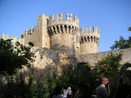 ehemalige Burg  von Rhodos - Großmeisterpalast