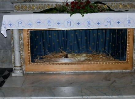 Krippe in der Geburtskirche - Geburtskirche Bethlehem