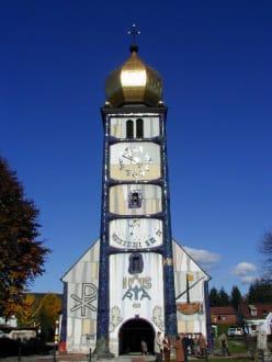 Hundertwasserkirche - Hundertwasserkirche Bärnbach