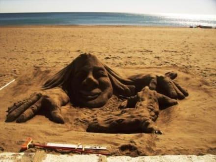 Strandkünstler - Strände Torremolinos