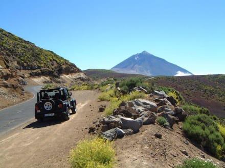 Landschaftsansicht - Teide Nationalpark