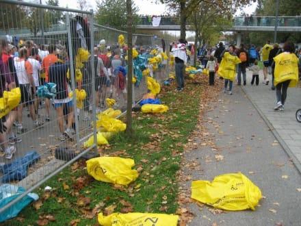 nach dem Start - München Marathon