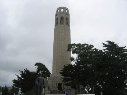Der Coit Tower - Coit Tower