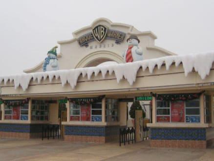 Eingang in der Warner Park - Parque Warner