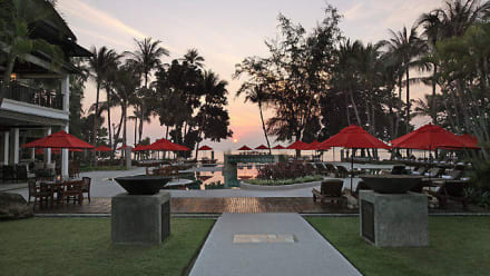 Sunset at Amari Palm Reef Samui -