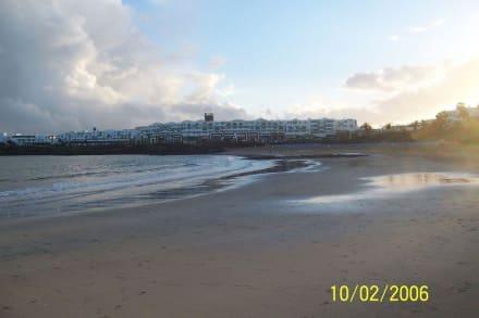 Strand - Strandpromenade Costa Teguise