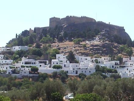 Die Akropolis von Lindos! - Akropolis von Lindos