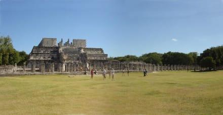 Chichen Itza Tempel der Krieger/gruppe der 1000 Säulen - Ruine Chichén Itzá