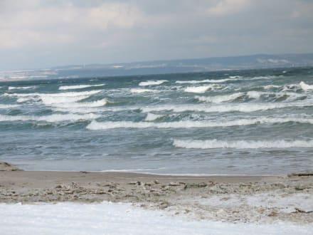 Ostsee bei Sturm - Strand Binz auf Rügen