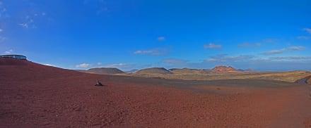 Grandioses Panorama vom Timanfaya Nationalpark. - Nationalpark Timanfaya (Feuerberge)