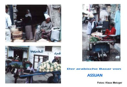 Im Basar von Assuan - Bazar von Assuan
