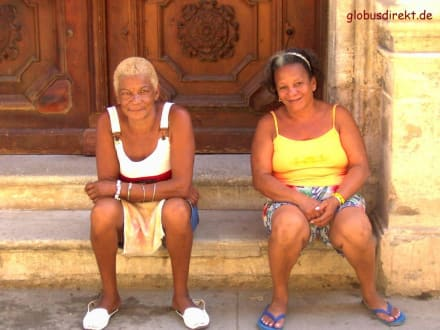 Man (Frau) hat Zeit - Altstadt Havanna