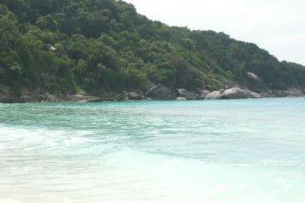 Herrlicher Strand auf den Simis - Koh Surin Inseln
