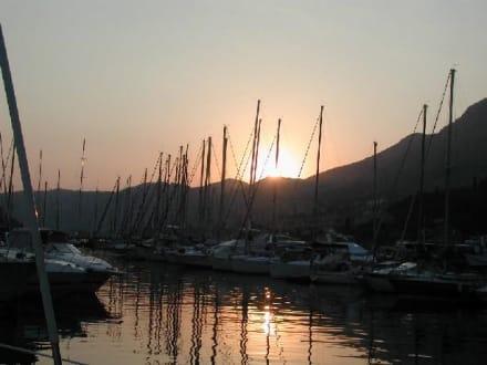 Sonnenuntergang Marina Dubrovnik - Hafen Dubrovnik