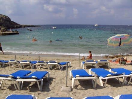Badespaß in der Cala Codolar - Strand Cala Codolar