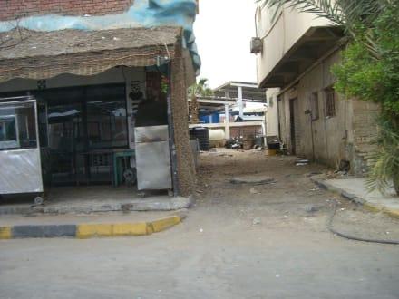 Leben in den Nebengassen von Hurghada - Zentrum Hurghada