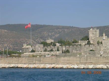 Blick auf Bodrum / Türkei - Kastell von Bodrum