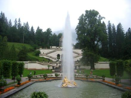 Schlosspark Linderhof - Schloss Linderhof