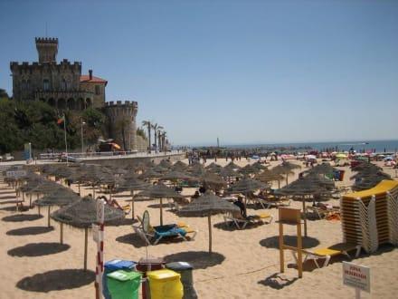 Reservierter Strandbereich - Strände Estoril