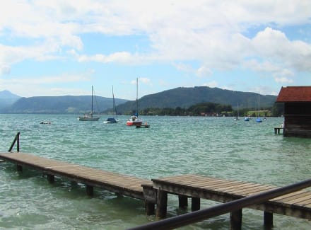 Blick auf Attersee - Attersee
