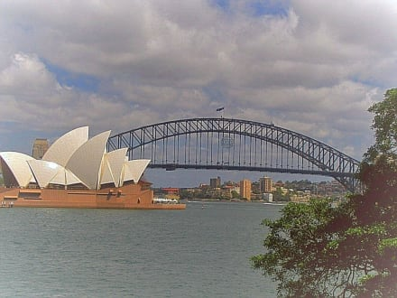 Sydney Opera House und Harbour Bridge - Harbour Bridge