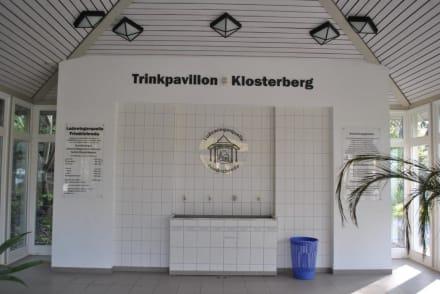 Im Trinkpavillon - Kurpark