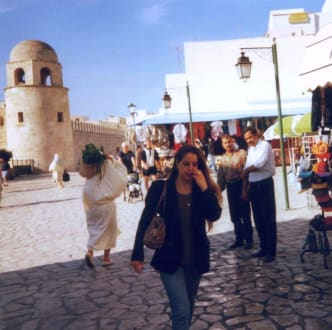 Hauptplatz in Sousse am Eingang zur Medina - Medina