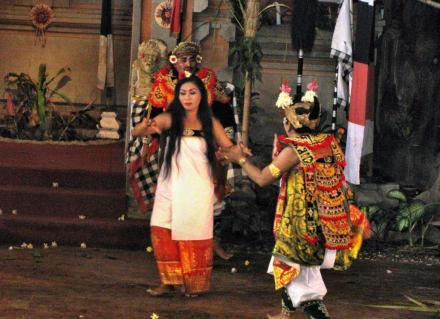 Barung Tanz - Traditionell Balinesischer Tanz