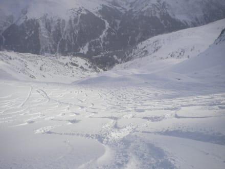 Tiefschneevergnügen am Arlberg - Skigebiet St. Anton am Arlberg