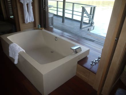 Badewanne - Hotel Four Seasons Resort Bora Bora