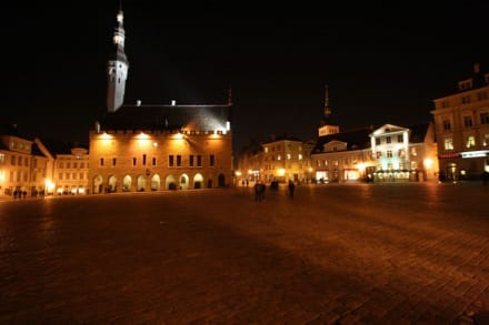 Altstadt am Abend 2 - Altstadt Tallinn/Reval