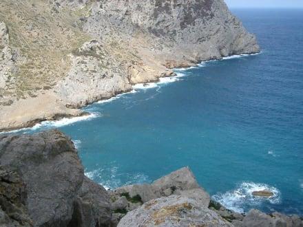 Bucht am Cap de Formentor - Cap Formentor