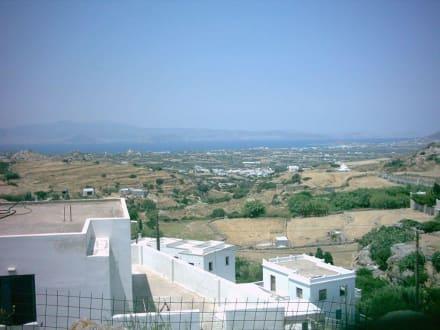 Ausblicke auf die Küste - Hinterland von Naxos