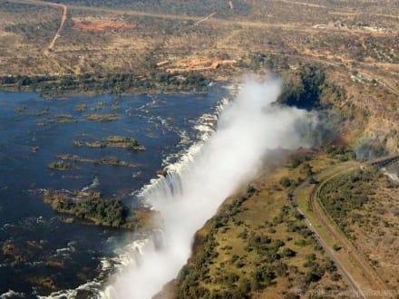 Von oben - Victoria Falls
